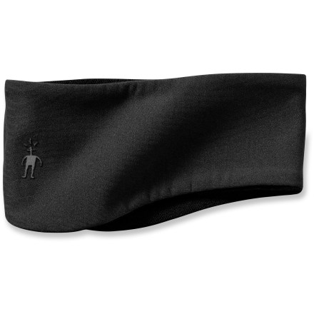 Pull on the SmartWool PhD HyFi Training headband before heading out the door for cold-weather runs and hikes. Nylon face is backed by soft merino wool for great comfort next to skin; fabric provides warmth and helps block wind. Contoured design ensures your ears are covered. 1 size fits most. - $25.00