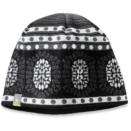 Entertainment Be prepared to take on winter with the SmartWool Warm Snowflake hat. Jersey-knit merino wool/acrylic exterior has a merino wool headband liner for great warmth and comfort. - $21.93