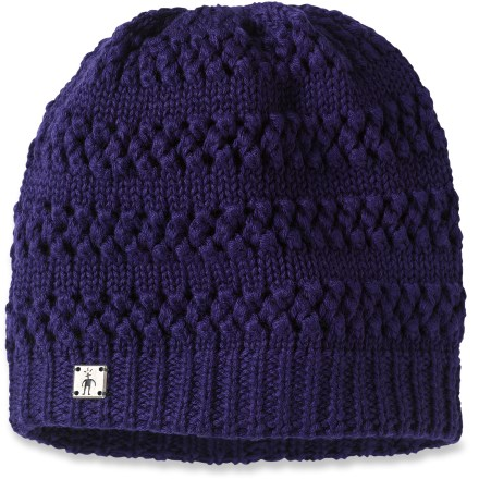 Entertainment Top off your casual winter wardrobe with the SmartWool Star Garnet beanie. Open-knit exterior is lined with a flat jersey-knit interior. - $29.93