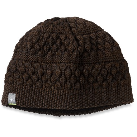 Entertainment Show winter weather that you mean business with the SmartWool Warmer Stripe Texture hat on your head. - $8.83