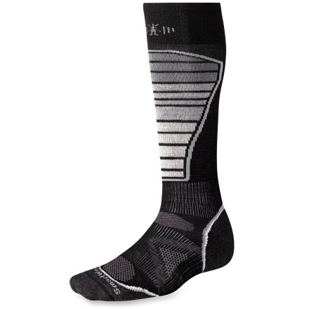 Ski The men's PhD Ski Light Socks are new and improved, and better than ever. They feature innovative new fabric, a more comfortable fit and smart design details that enhance performance. - $11.93