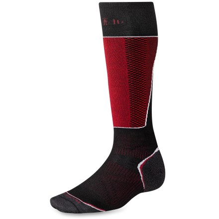 Ski The men's PhD Ski Racer Socks feature innovative new fabric, a comfortable fit and smart design details that enhance performance. - $15.93