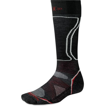 Snowboard The men's PhD Snowboard Light Socks are new and improved, and better than ever. They feature innovative new fabric, a more comfortable fit and smart design details that enhance performance. - $11.93