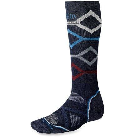 Snowboard The men's PhD Snowboard Medium Socks are new and improved, and better than ever. They feature innovative new fabric, a more comfortable fit and smart design details that enhance performance. - $12.93