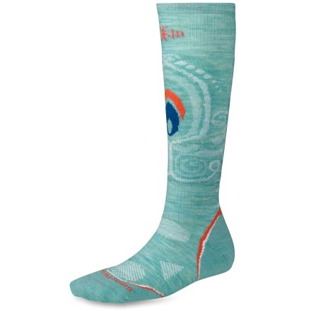 Snowboard The women's PhD Snowboard Light Socks feature innovative new fabric, a comfortable fit and smart design details that enhance performance. - $15.93
