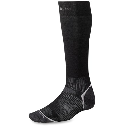 Ski The men's PhD Ski Ulta Light Socks feature an innovative new fabric, a comfortable fit and smart design details that enhance performance. - $10.93