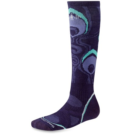 Snowboard The women's PhD Snowboard Medium Socks are new and improved, and better than ever. They feature innovative new fabric, a more comfortable fit and smart design details that enhance performance. - $12.83