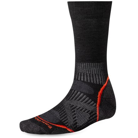 Ski The men's PhD Nordic Light Socks are new and improved, and better than ever. They feature innovative new fabric, a more comfortable fit and smart design details that enhance performance. - $9.93
