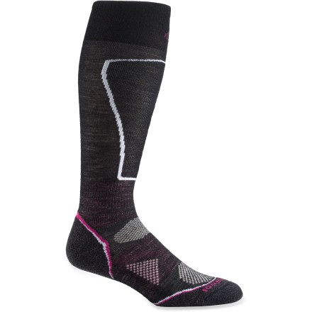 Ski The women's PhD Ski Light Socks are new and improved, and better than ever. They feature innovative new fabric, a more comfortable fit and smart design details that enhance performance. - $15.93