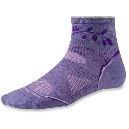Fitness The SmartWool PhD Outdoor Ultra Light Mini socks feature innovative fabric, a comfortable fit and smart design details that enhance performance. - $10.73