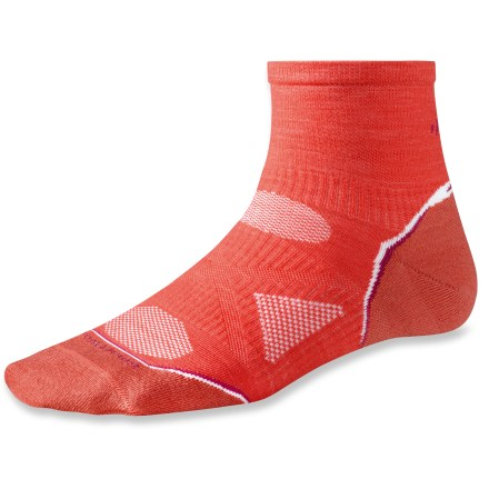 Fitness The SmartWool PhD Running Ultra Light Mini women's socks are ready for race day. - $10.73