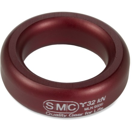 Climbing The SMC Rigging/Descending ring is the strongest aluminum ring of its size and can be used in a number of ways while climbing. - $4.90