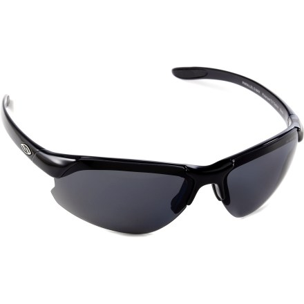 Entertainment The Smith Parallel D-Max polarized interchangeable sunglasses provide maximum coverage without obstructing your peripheral vision-ideal for trail running, cycling or a day on the water. - $139.00