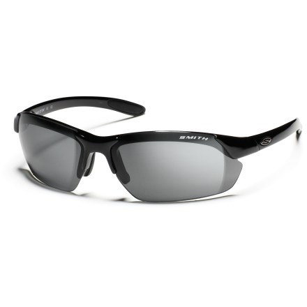 Entertainment Providing maximum coverage, these Smith Parallel Max polarized interchangeable sunglasses allow unobstructed peripheral vision-ideal for trail running, cycling or a day on the boat. - $139.00