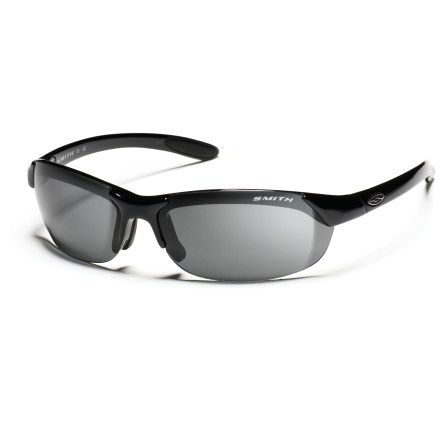Entertainment Sleek and subtle, these Smith Parallel polarized interchangeable sunglasses allow unobstructed peripheral vision-ideal for trail running, cycling or a day on the boat. - $139.00