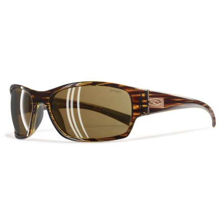 Entertainment These Smith Forum polarized sunglasses will add a bit a bit of swagger in your saunter even as they provide comfortable protection from the sun. - $119.00