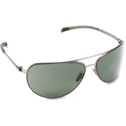 Entertainment The Smith Showdown polarized sunglasses feature featherlight stainless-steel frames in a classic aviator profile for the ultimate in style and durability. - $169.00