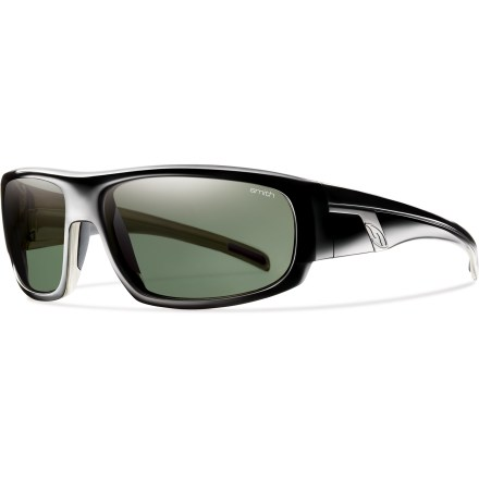Entertainment These action-inspired Smith Terrace polarized sunglasses feature sleek surfacing and a fast profile to handle whatever curves your day throws you. - $119.00