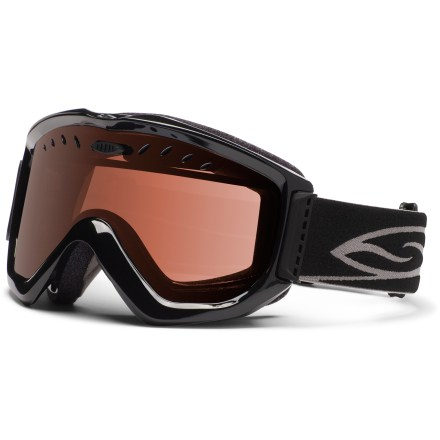 Ski The Smith Knowledge OTG snow goggles are eyeglass compatible for a comfortable fit and great optical clarity when you hit the slopes. - $37.83