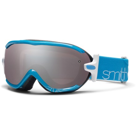 Ski Smith Virtue women's snow goggles combine a sleek, semi-rimless design with excellent optics for all-out performance on the slopes. - $54.83