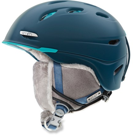 Ski The women's Smith Voyage snow helmet with Boa(R) fit system conceals lightweight construction in a stylish package. - $63.83