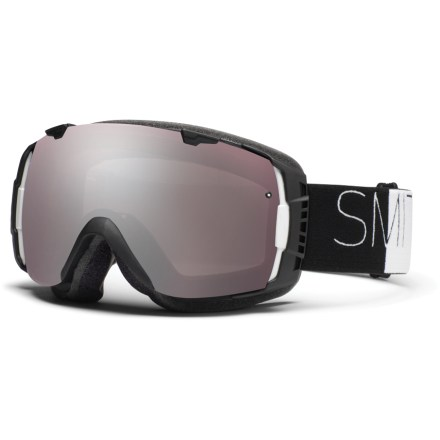 Ski Swap lenses to optimize vision with the Smith I/O snow goggles, which feature an easy interchangeable lens system, excellent comfort and great fog protection. - $104.83