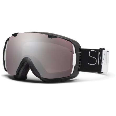 Ski The Smith I/O Asian Fit snow goggles boast an easy, interchangeable lens system, excellent optical quality and an optimized fit for great performance on the slopes. - $104.83
