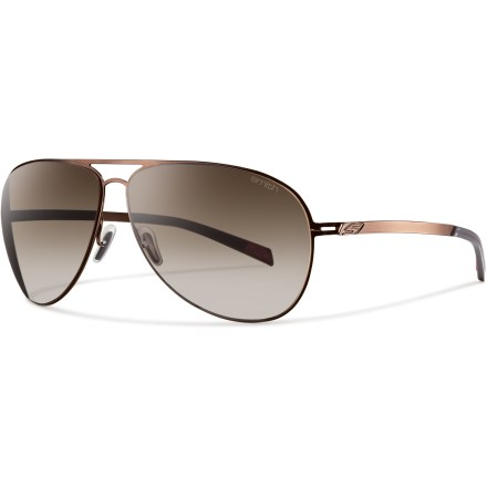 Entertainment Whether your plans include relaxing on the beach or taking on an urban wilderness, the classic shape and modern technology of the Smith Ridgeway Polarized sunglasses help keep you ready for anything. - $169.00