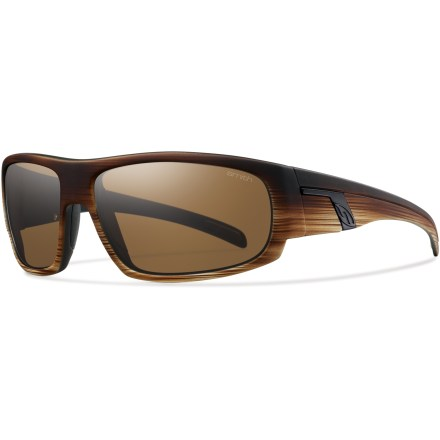 Entertainment The Smith Terrace sunglasses provide complete coverage and full UV protection while offering casual style that looks great while walking to work or combing the beach. - $80.00
