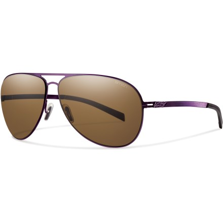 Entertainment The only way to improve a mountaintop sunset or a sunrise over the ocean is to see it through the Smith Ridgeway Polarized sunglasses; they cut out the glare so all you have to do is admire the view. - $169.00