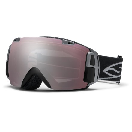 Ski The tech-packed Smith I/O Recon snow goggles show GPS-based data in-goggles, offer Bluetooth(R) smartphone interface capability and boast a fast and easy lens interchange system. Boom. - $321.83