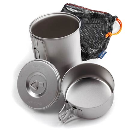 Camp and Hike Traveling light and fast? This minimalist kit packs your kitchen into a tiny space, and weighs about 5 ounces. - $65.95