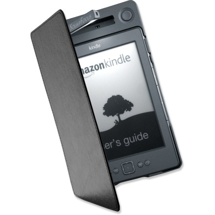 Camp and Hike The svelte SolarFocus Power+ lighted cover for the Kindle 4 is the perfect companion for your Kindle e-reader, offering it protection, a built-in reading lamp and auxiliary power. - $26.83