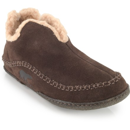 Entertainment Offering warm coverage, the Sorel Manawan slippers are destined for Sunday morning relaxation. - $75.00