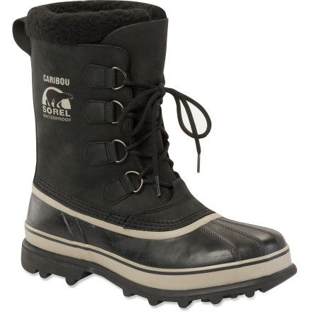 The classic Sorel Caribou winter boots provide legendary warmth and protection in cold, snowy conditions. - $150.00