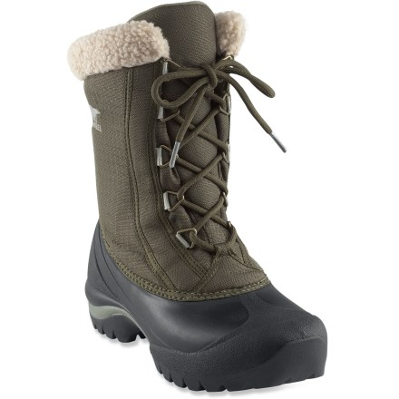Hunting For warmth and protection in the snow and cold, these Sorel Cumberland winter boots are designed to keep you comfortable in temperatures down to -25degF. - $24.83