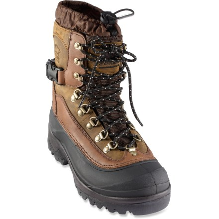 Hunting The Sorel Conquest winter boots were designed to dominate cold, snowy winter temperatures down to -40degF. - $150.00
