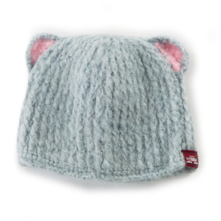 Entertainment While the Spacecraft Buddha Bear hat may not improve your child's listening abilities, it will undoubtedly help her reach the pinnacle of cuteness this winter! Soft acrylic provides the warmth of wool without the itch, and it dries quickly. - $9.83