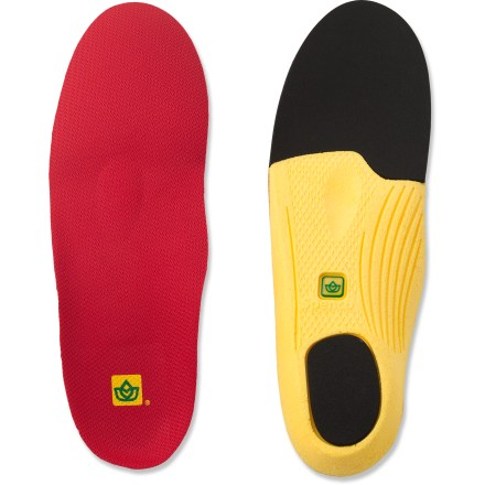 The Spenco PolySorb Walker/Runner replacement insoles offer firm support and cushioning for active pursuits and everyday use. - $11.83