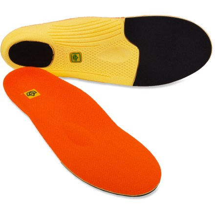 Fitness Spenco PolySorb ProForm replacement insoles deliver thin, contoured and flexible support for increased shock absorption and heel strike protection underfoot. - $9.83