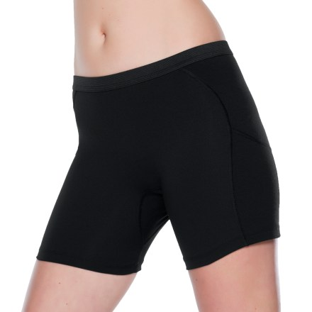 Ski These cold-weather SportHill Northwind Unders underwear bottoms feature a wind-blocking panels to take the chill out of wintertime adventures. Hip and back panels feature uses a highly wind-resistant fabric that also offers 4-way stretch, great breathability and quick-drying properties. Remaining panels are constructed with a polyester/spandex blend for ample breathability, moisture-wicking performance and stretch. Feature a comfortable, brushed elastic waistband, which sits roughly 1 in. below the belly button. Flatlock seams on the SportHill Northwind Unders offer flexibility and low-bulk comfort. - $24.93