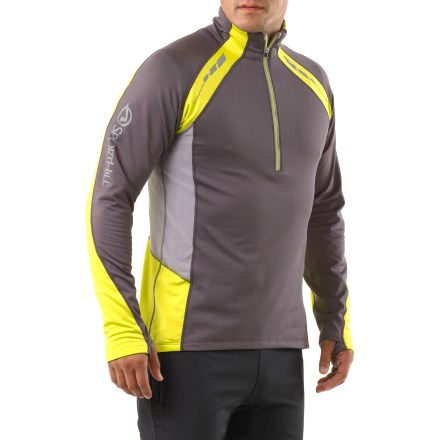 Ski This SportHill Ultimate Visibility II Zip-Top shirt features copious reflectivity along with a soft, stretchy fabric that blocks wind up to 25 mph, making it great for cool-weather, active pursuits. - $49.93