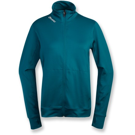 The SportHill Nomad full-zip top keeps you comfortable during cold-weather activities. Polyester/spandex blend fabric offers moisture-wicking performance and stretch. 4-way stretch allows maximum mobility and comfort. Flatlock seams maximize motion and minimize abrasion. Raglan sleeves allow unhindered shoulder movement. Reflective logos increase visibility. Special buy. - $28.73