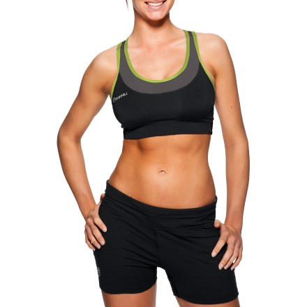 Fitness The SportHill Madison sports bra offers excellent support during fast-paced activities. - $19.73