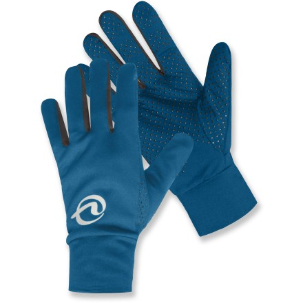 Ski The SportHill Infuzion gloves are ready for mild-weather runs and walks when you need a touch of warmth. Polyester/spandex blend fabric is moisture wicking and quick drying. Closeout. - $19.93