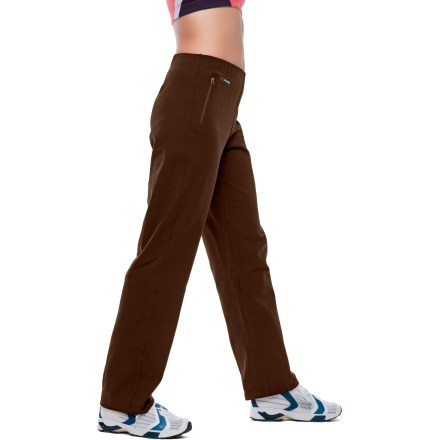 Fitness The SportHill Traverse II pants are feature rich-you'll want to wear them all day long. Featuring comfortable 4-way stretch in the 3SP(R) fabric which is fast drying, breathable and highly wind resistant. Features a flat front design with a non-roll waistband with elastic at the back. SportHill Traverse II pants sit about 1 in. below true waist, with a relaxed fit and straight legs. Side pockets with reverse-coil zippers. Overstock. - $52.83