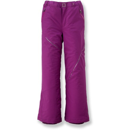 Ski The insulated Spyder Vixen pants help keep girls warm, dry and glamorous as they show off their slope-style skills. - $83.93