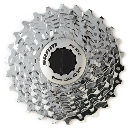 MTB This SRAM road bike cassette provides nine speeds for quick and positive index shifting. - $69.00