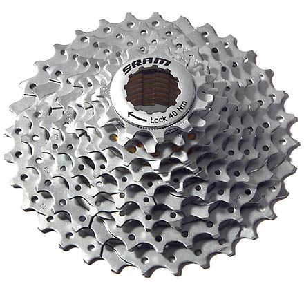 MTB Use the SRAM PG-970 9-Speed cassette with your mountain bike hubs. - $45.00