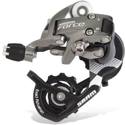 MTB Crisp, clean and correct. The SRAM Force rear derailler offers lightweight, precise gear changes throughout the shifting range. - $103.00